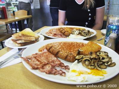 Britská snídaně