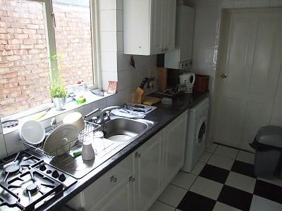 Kuchyně v share housu