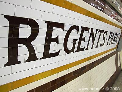Stanice metra Regents Park