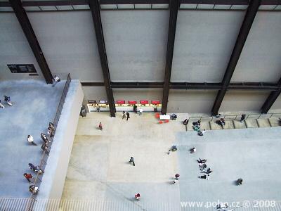 Interiér Tate Modern