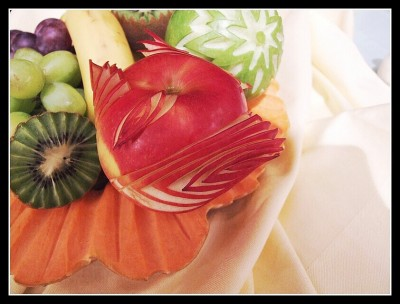 Vyřezávání do ovoce a zeleniny