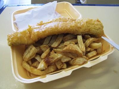 Ryba s hranolkami