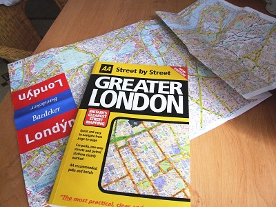 Mapy Londýna