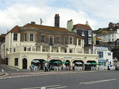 Restaurace na pobřeží